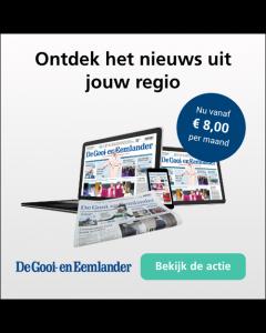 De Gooi en Eemlander Digitaal 0/6 | 1 jaar € 2,18 p.m. TWO