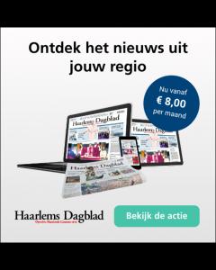 Haarlems Dagblad Digitaal 0/6 | 1 jaar € 2,18 p.w. TWO