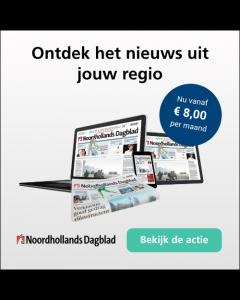 Noordhollands Dagblad Digitaal 0/6 | 2 jaar € 2,18 p.w. TWO