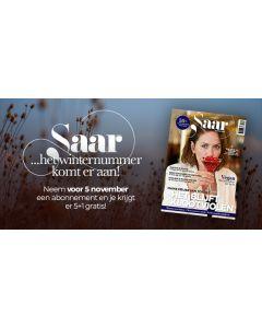 Saar Magazine 6x voor € 29,95 SA (2*)