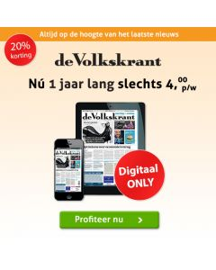 De Volkskrant Digitaal (0/6)   1 jaar voor € 3,50 p.w. TWO