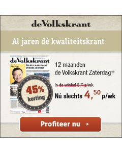 De Volkskrant Weekend+ (1/6)   3 jaar € 4,00 p.w. TWO